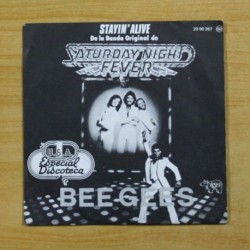 BEE GEES - BSO SATURDAY NIGHT FEVER STAYIN ALIVE - SINGLE