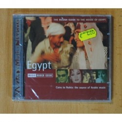 VARIOS - CAIRO TO NUBIA: THE SOURCE OF ARABIC MUSIC / THE ROUGH GUIDE TO THE MUSIC OF EGYPT - CD