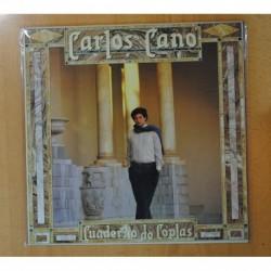CARLOS CANO - CUADERNO DE COPLAS - LP