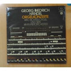 GEORG FRIEDRICH / HANDEL - ORGELKONZERTE - GATEFOLD - 2 LP