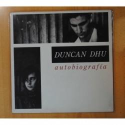 DUNCAN DHU - AUTOBIOGRAFIA - GATEFOLD - 2 LP