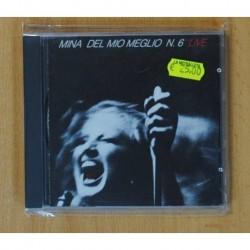 MINA - DEL MIO MEGLIO N. 6 - CD