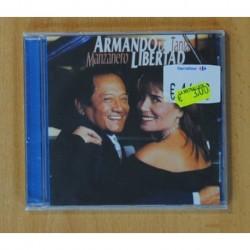 MANZANERO / TANIA - ARMANDO LA LIBERTAD - CD