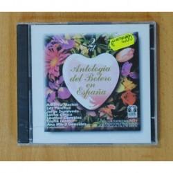 VARIOS - ANTOLOGIA DEL BOLERO EN ESPAÑA - 2 CD