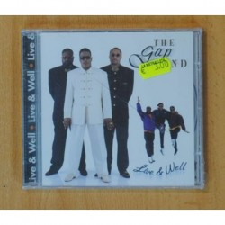 THE GAP BAND - LIVE & WELL - CD
