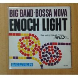 ENOCH LIGHT Y SU ORQUESTA - BIG BAND BOSSA NOVA - DESAFINADO + 3 - EP