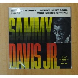 SAMMY DAVIS JR. - WHY DO I WORRY + 3 - EP