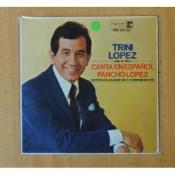 TRINI LOPEZ - CANTA EN ESPAÑOL - PANCHO LOPEZ + 3 - EP