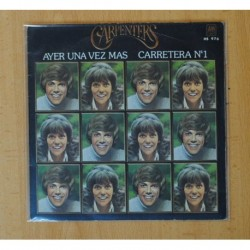 CARPENTERS - AYER UNA VEZ MAS / CARRETERA Nº 1 - SINGLE