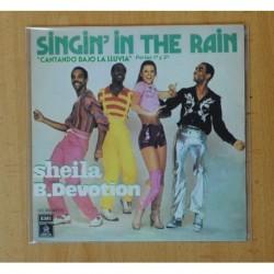 SHEILA B. DEVOTION - SINGING IN THE RAIN PART 1 / SINGING IN THE RAIN PART 2 - SINGLE