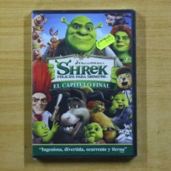 SHREK FELICES PARA SIEMPRE - DVD