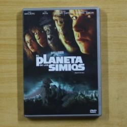 EL PLANETA DE LOS SIMIOS - DVD