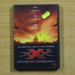 XXX2 ESTADO DE EMERGENCIA - DVD