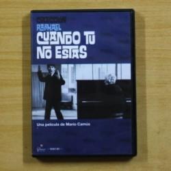 CUANDO TU NO ESTAS - DVD