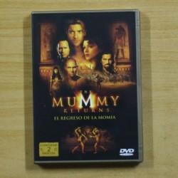 THE MUMMY RETURNS EL REGRESO DE LA MOMIA - DVD