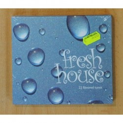 FRESH HOUSE - 22 FLAVORED TUNES - CD
