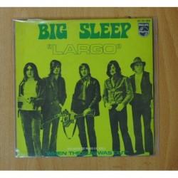 BIG SLEEP - LARGO - SINGLE