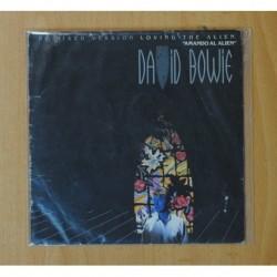 DAVID BOWIE - LOVING THE ALIEN - SINGLE