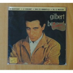 GILBERT BECAUD - ET MAINTENANT + 3 - EP