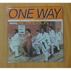 ONE WAY / AL HUDSON - YOU CAN DO IT - SINGLE