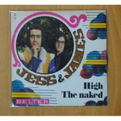JESS & JAMES - HIGH / THE NAKED - SINGLE