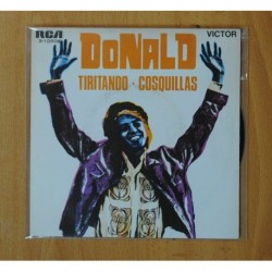 DONALD - TIRITANDO / COSQUILLAS - SINGLE