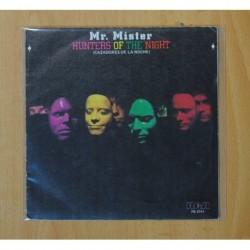 MR. MISTER - HUNTERS OF THE NIGHT - SINGLE