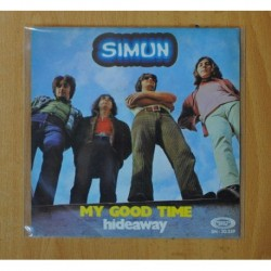 SIMUN - MY GOOD TIME / HIDEAWAY - SINGLE