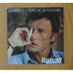 JOHNNY HALLYDAY - QUELQUE CHOSE DE TENNESSEE - SINGLE