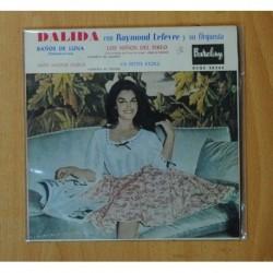 DALIDA - BAÑOS DE LUNA + 3 - EP