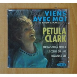PETULA CLARK - VIENS AVEC MOI + 3 - EP