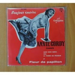 ANNIE CORDY - FLEUR DE PAPILLON + 3 - EP