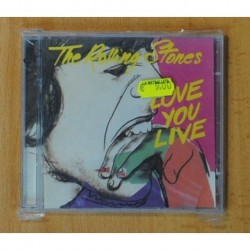 THE ROLLING STONES - LOVE YOU LIVE - CD