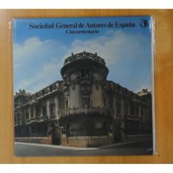 SOCIEDAD GENERAL DE AUTORES DE ESPAÑA - CINCUENTENARIO - LP