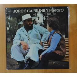JORGE CAFRUNE Y MARITO - VIRGEN INDIA - LP
