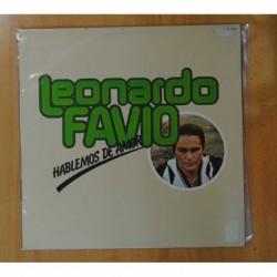 LEONARDO FAVIO - HABLEMOS DE AMOR - LP