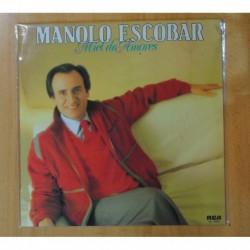 MANOLO ESCOBAR - MIEL DE AMORES - LP