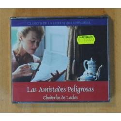 CHODERLOS DE LACLOS - LAS AMISTADES PELIGROSAS (CLASICOS DE LA LITERATURA UNIVERSAL) - CD