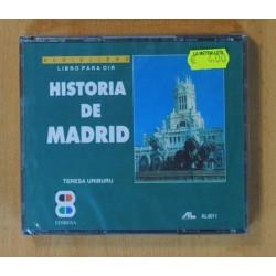 TERESA URIBURU - HISTORIA DE MADIRD (LIBRO PARA OIR) - CD