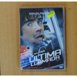 ULTIMA LLAMADA - DVD