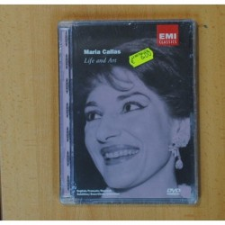 MARIA CALLAS LIFE AND ART - DVD
