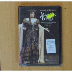 MARIA JOSE MONTIEL MADRILEÑA BONITA - DVD
