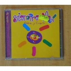 SIEMPRE ASI - DIEZ Y CUARTO - CD