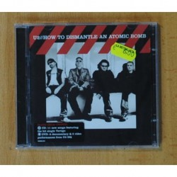 U2 - HOW TO DISMANTLE AN ATOMIC BOMB - CD