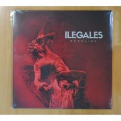 ILEGALES - REBELION - LP