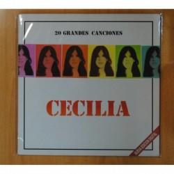 CECILIA - 20 GRANDES CANCIONES - LP