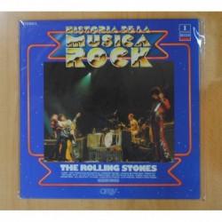 THE ROLLING STONES - HISTORIA DE LA MUSICA ROCK 1 - LP