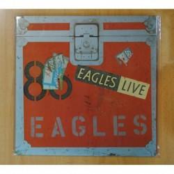 EAGLES - EAGLES LIVE + LIBRETO - LP