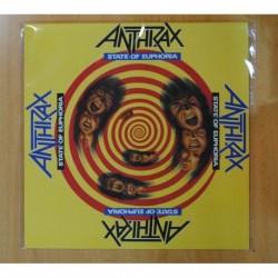 ANTHRAX - STATE OF EUPHORIA - LP
