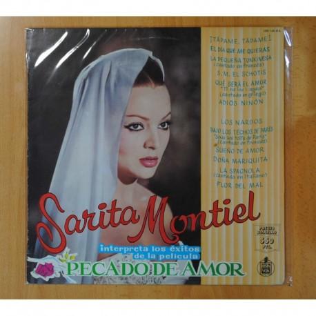 SARITA MONTIEL - PECADO DE AMOR - LP